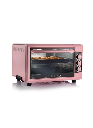 Schafer Backofen Mini Fırın - Pembe Pembe